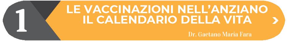LE VACCINAZIONI NELL'ANZIANO IL CALENDARIO DELLA VITA