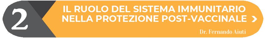 IL RUOLO DEL SISTEMA IMMUNITARIO NELLA PROTEZIONE POST-VACCINALE